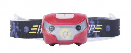 Photo Lampe frontale Rechargeable 110 Lumens inclinable