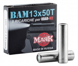 Photo Munition Training Bam - UDAR M2 cal 13x50 -boite x5
