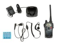 Photo Talkie Walkie MIDLAND G9 avec kit oreillette