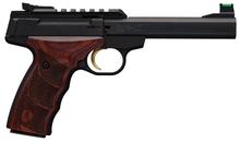Photo Pistolet Browning Buck Mark Plus Rosewood UDX .22LR